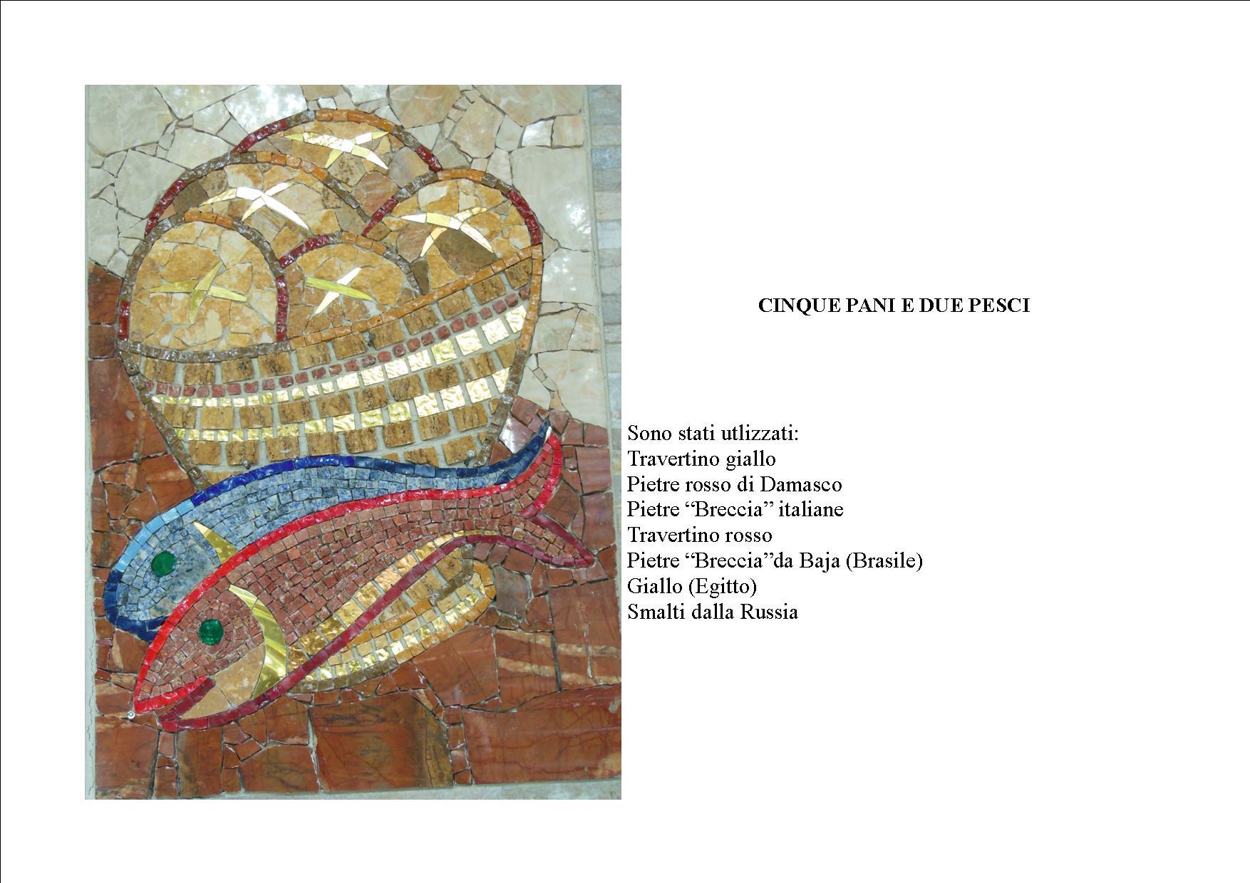 Cinque pani e due pesci